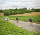Bike v Car on road