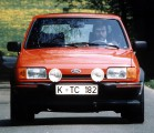 Red Ford Fiesta XR2