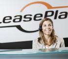 LeasePlan logo woman smiling