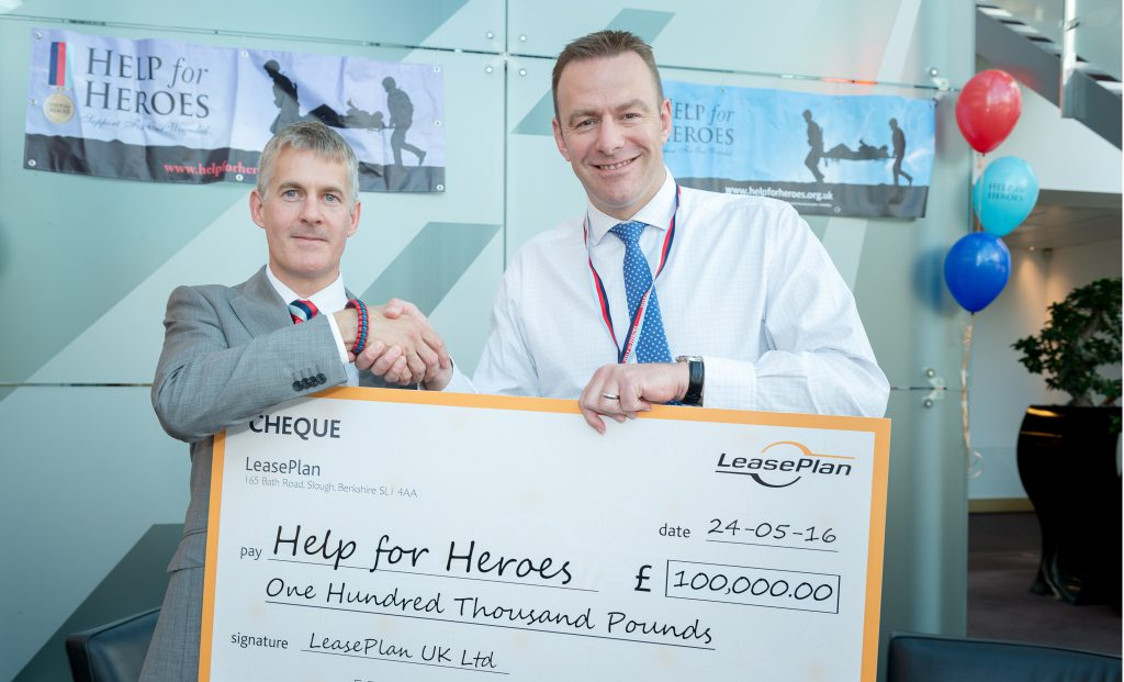 cheque for H4H LeasePlan