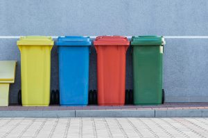 Refuse vehicles recycling collection