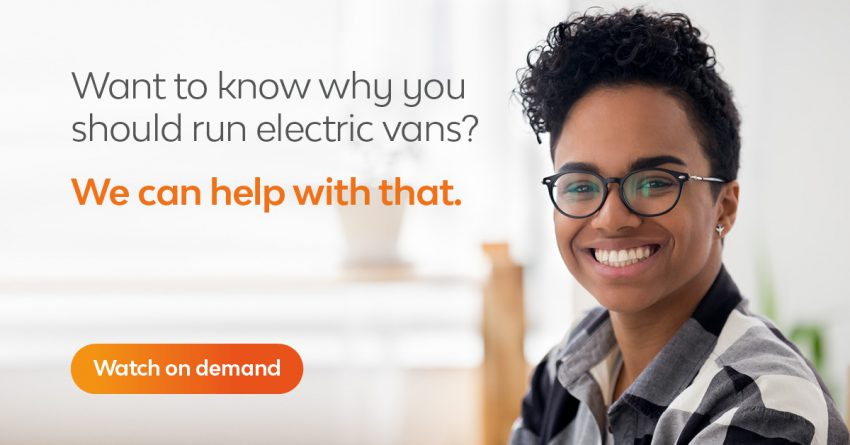 On demand Webinar Electric Van