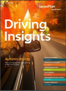 Driving Insights Q3 newsletter LeasePlan
