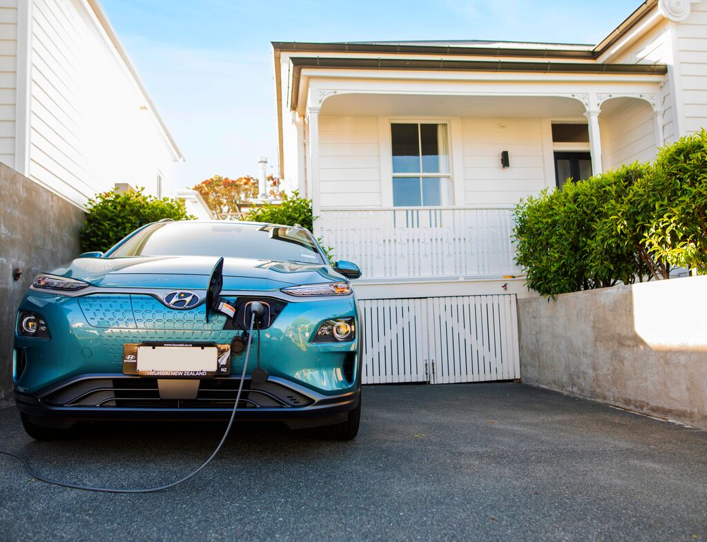 electric car home charging