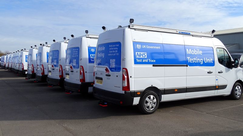 DHSC Mobile Testing Units