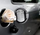 cash in fuel tank